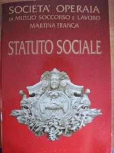 Statuto Sociale - Soms Martina Franca